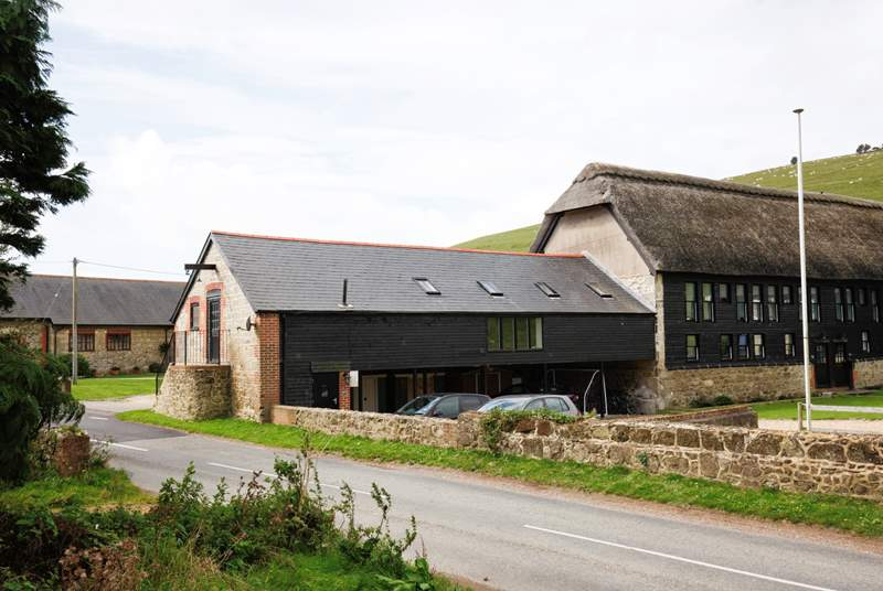 The barn conversion is set on the first floor