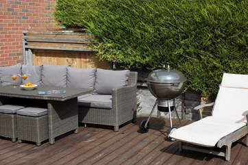 Grab the sausages and pour the cocktails, it's barbecue time.