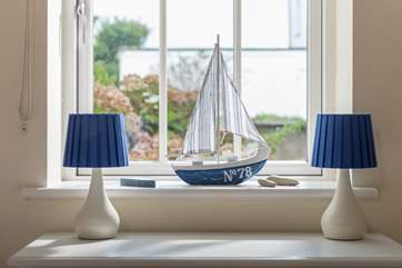Nautical touches around the house.
