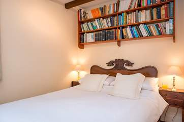 Bedroom 1, located on the ground floor, has a comfy double bed.