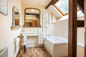 The en suite bathroom for bedroom 3.