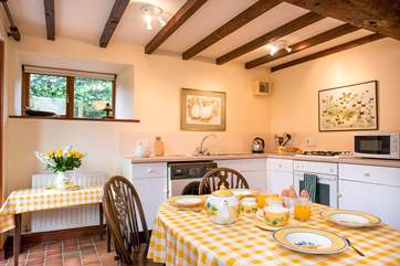 There's even a second kitchen/ dining area on the ground floor- how handy is that!