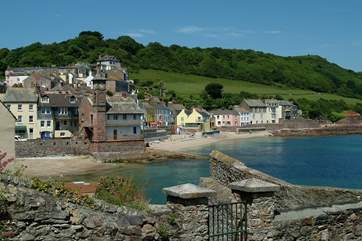The delightful twin villages of Kingsand and Cawsand are close by
