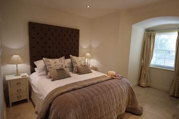 The fabulous master bedroom