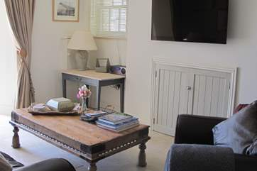 The delightful sitting-room, a relaxing and calming area