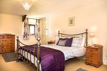 There are four beautifully appointed bedrooms.