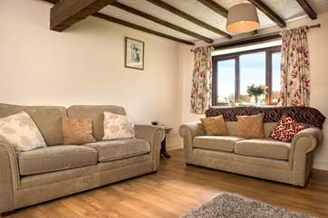 The barn is comfortably furnished throughout.