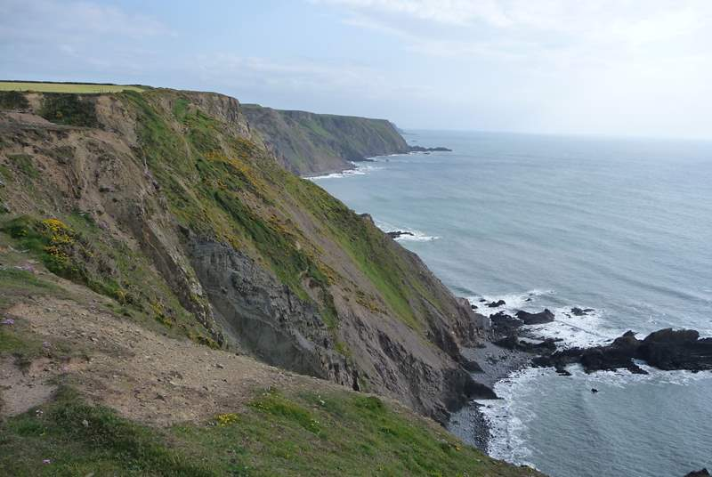 Pop on your walking boots and discover endless miles of stunning scenery along the coastal footpath