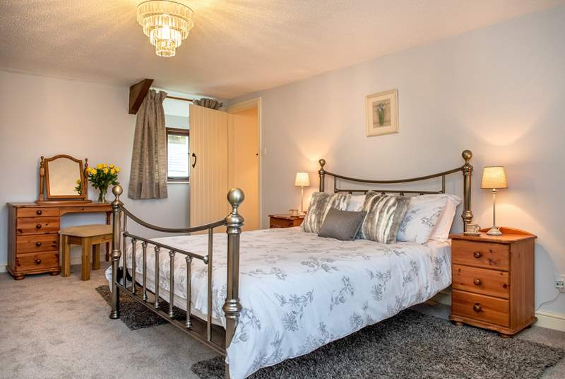 There are four beautifully appointed bedrooms