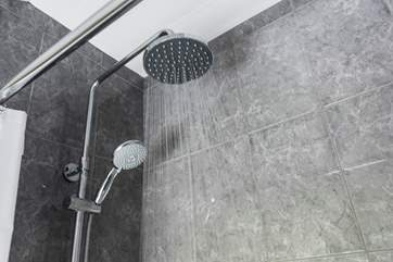 A superb shower.