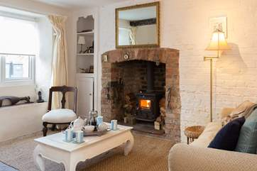 This exceptionally cosy and welcoming cottage is a fabulous bolthole whatever the time of year.