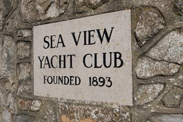 You'll be just seconds away from Seaview Yacht Club.