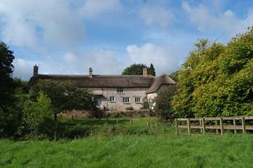 Buddlewall is an historic farmhouse with vast amounts of character and really lovely gardens.