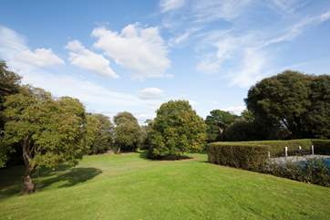 The lovely 8 acres of shared communal grounds are yours to wonder and explore