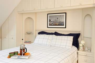 Don't leave the comfortable king-size bed just yet, why not have coffee in bed and a lie in?