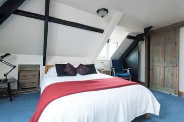 The second floor en suite double bedroom.