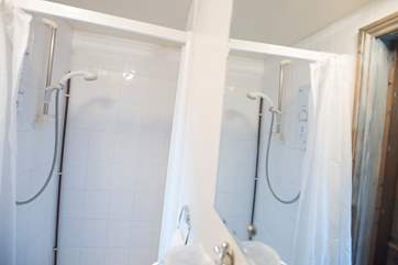 One of the en suite shower-rooms.