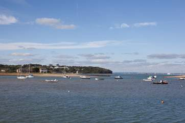 Take a walk around Bembridge harbour.