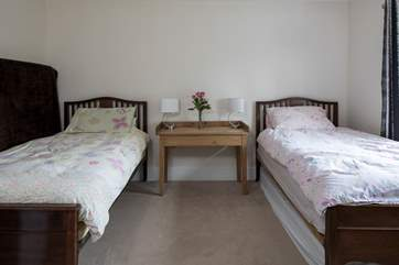 At the back of the house, down its own private corridor, bedroom 5 has large 3ft 3