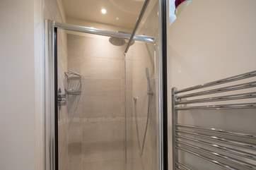 The en suite shower-room has a drench head.