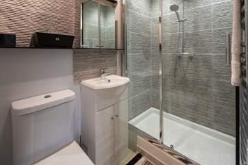 En-suite shower room to bedroom 1.