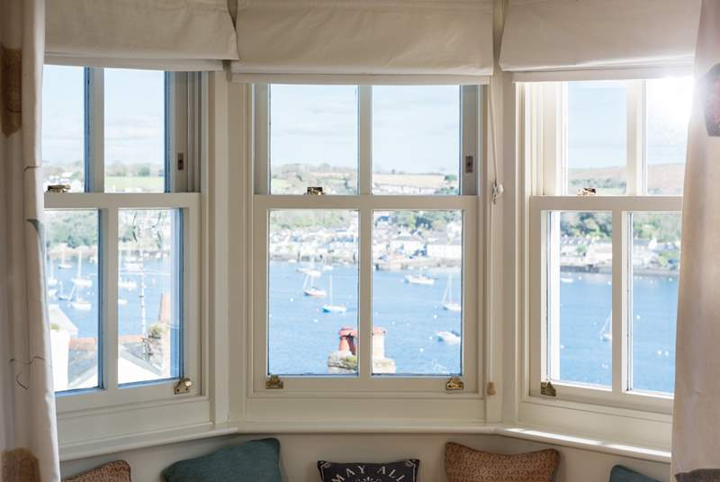 You'll never tire of looking out of the windows!