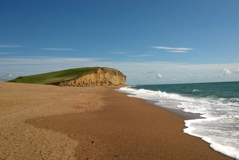 East Devon and west Dorset have a stunning coastline,  the heritage Jurassic Coast.