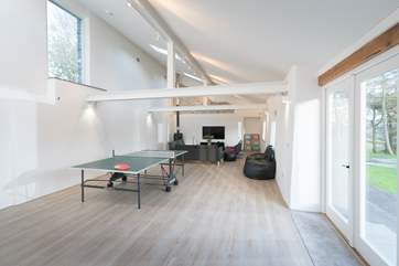 The barn conversion is a fabulous space that all the family will enjoy. Between the two properties there is amazing choice and flexibility.