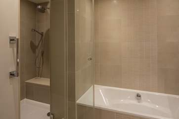 Shower cubicle in the master bedroom en suite.