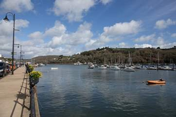 Whilst out and about in Dartmouth you will be treated to views such as this at every turn.