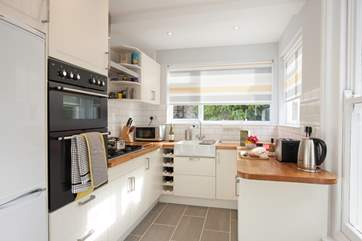 The delightful kitchen, make up a scrummy picnic for a day exploring.