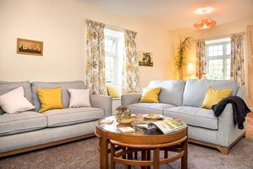 Relax and unwind on the comfy sofas.