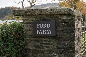 The Apple Store is situated within working Ford Farm.