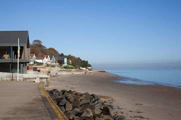 Stroll along the beach into Seaview village.