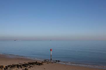 The Island offers beautiful beaches and calm seas.