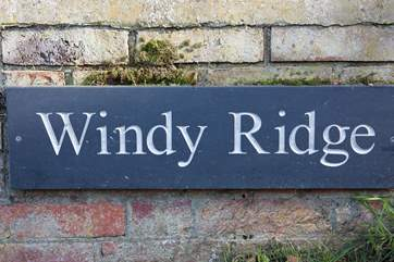 Welcome to Windy Ridge, have a wonderful stay.