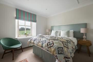 Bedroom 3 has 'zip and link' beds (5' double or 2'6'' singles).