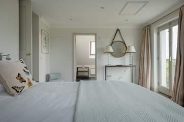 Bedroom 2 has an en suite bathroom.