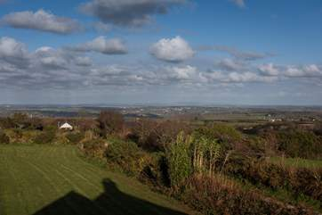Stunning panoramic views from Higher Little Lidgey.