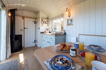 Enjoy a leisurely breakfast before heading out to explore the dramatic North Devon coast.
