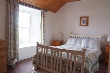 The first floor double bedroom.