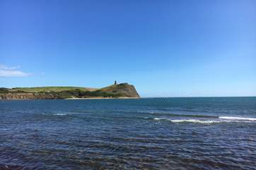 Clavell tower at Kimmeridge on the Isle of Purbeck, a fascinating beach to explore for fossils and the impressive Etches Collection is on display in the village.
