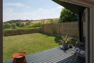 Self-contained within an enclosed garden, this tranquil location offers the chance to unwind.