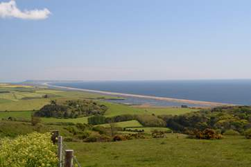 Travel the Jurassic Coast road between Weymouth and Bridport, spectacular views in both directions.