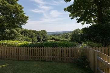 Ridge Lodge has far-reaching views from your terrace.