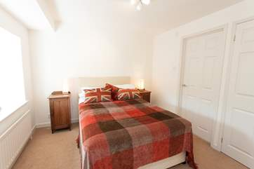 There are plenty of lovely double bedrooms to choose from.