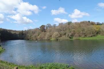 The Headford Reservoir is a a peaceful local landmark less than a mile away.