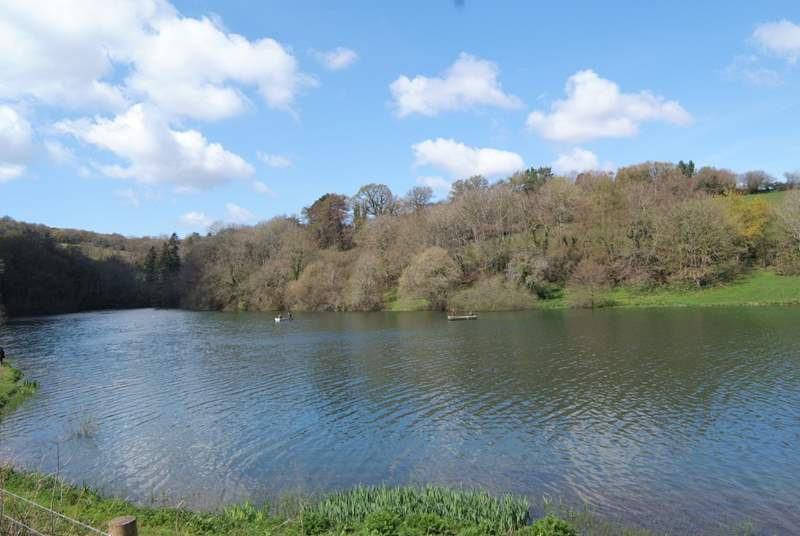 The Headford Reservoir is a a peaceful local landmark less than a mile away.