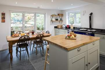 A wonderfully designed and fully equipped kitchen. Perfect for whipping up a feast.