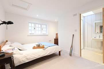 The ground floor double bedroom.